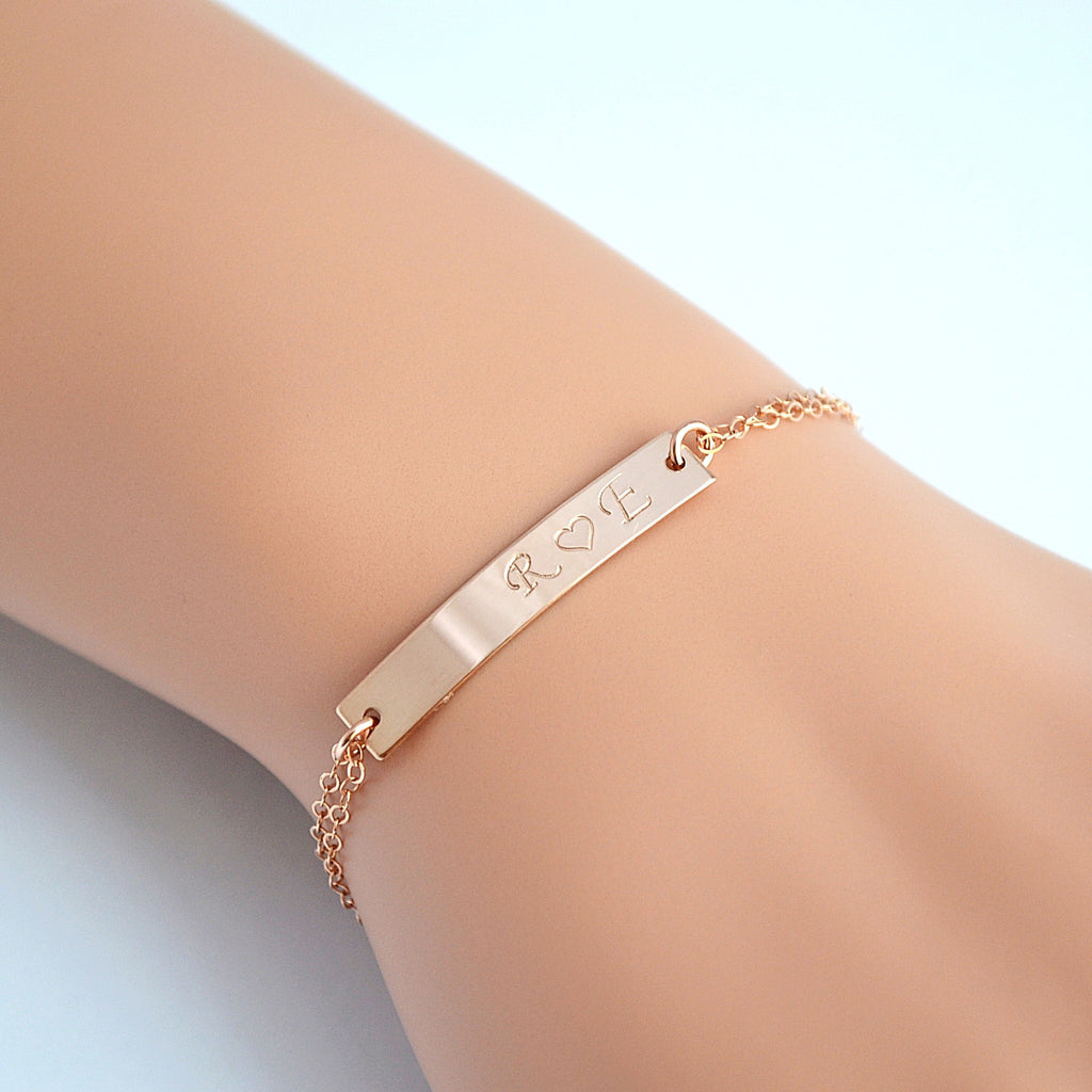bracelets gold product bar bracelet bangle skinny london adjustable bangles alexi
