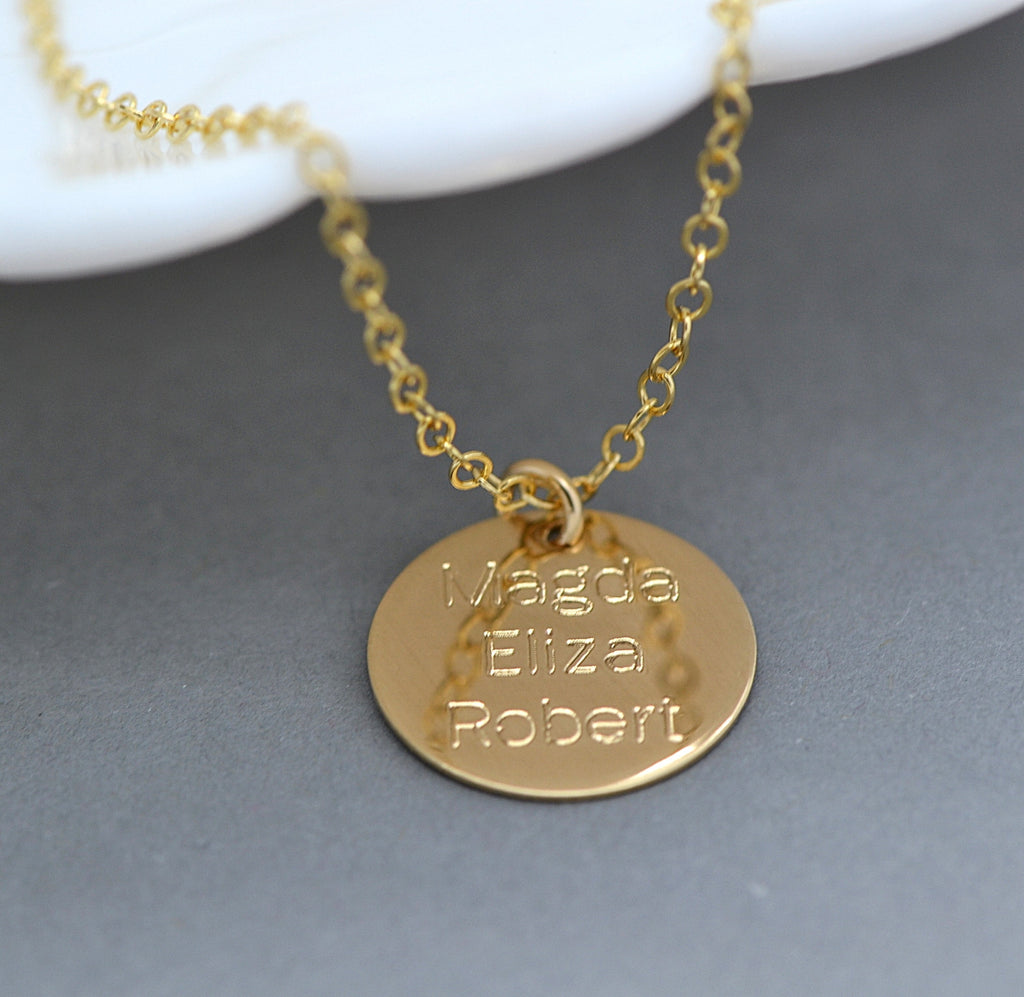 Name disc necklace engraved disc name necklace gold silver rose name disc necklace engraved disc name necklace gold silver rose gold aloadofball Images
