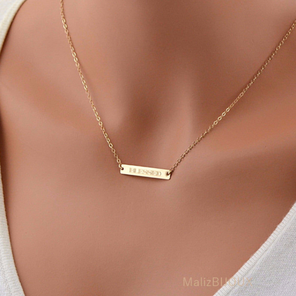 circle necklace necklaces ring name product engraved