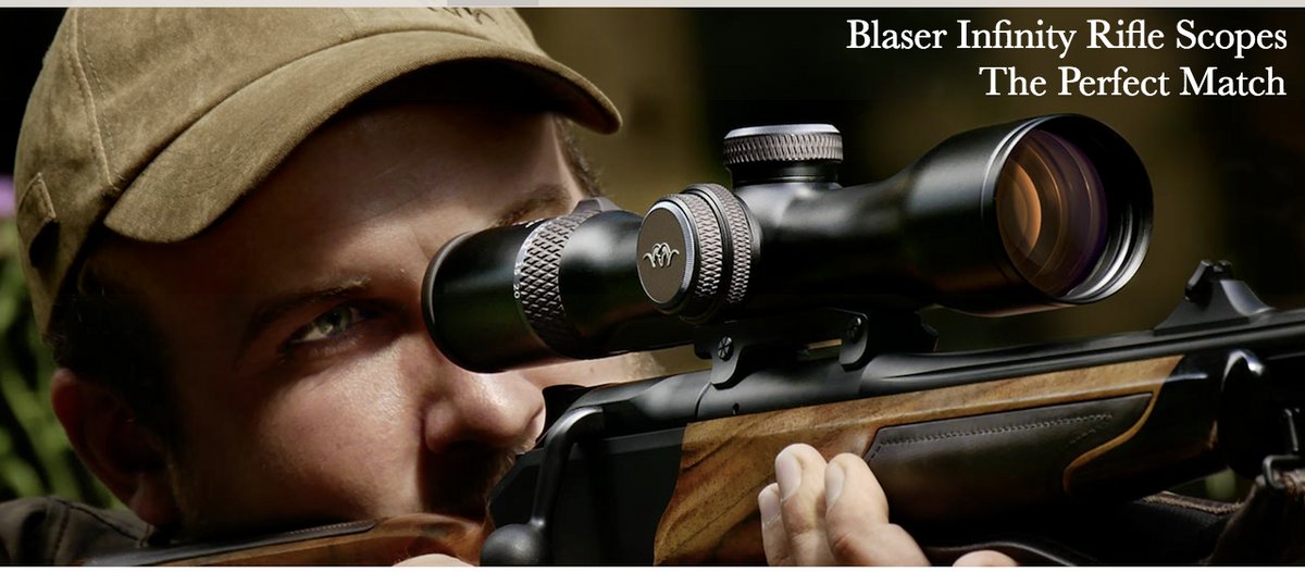 Blaser Infinity Scopes at Cluny Country Store