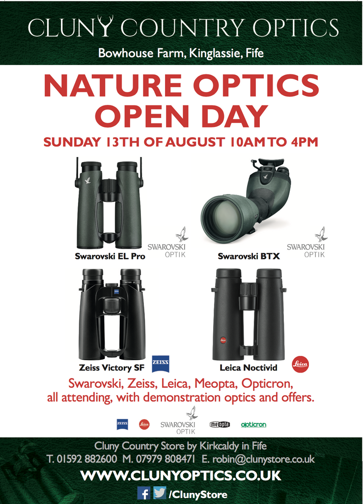 Sports Optics Nature Event At Cluny Country Store