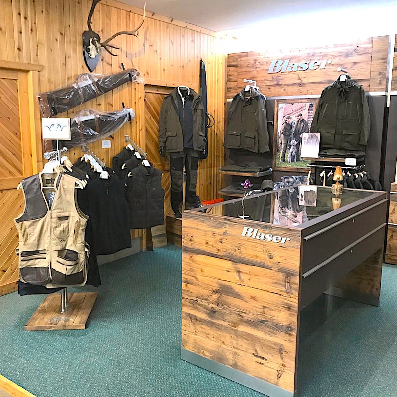Blaser Active Clothing In Cluny Country Store