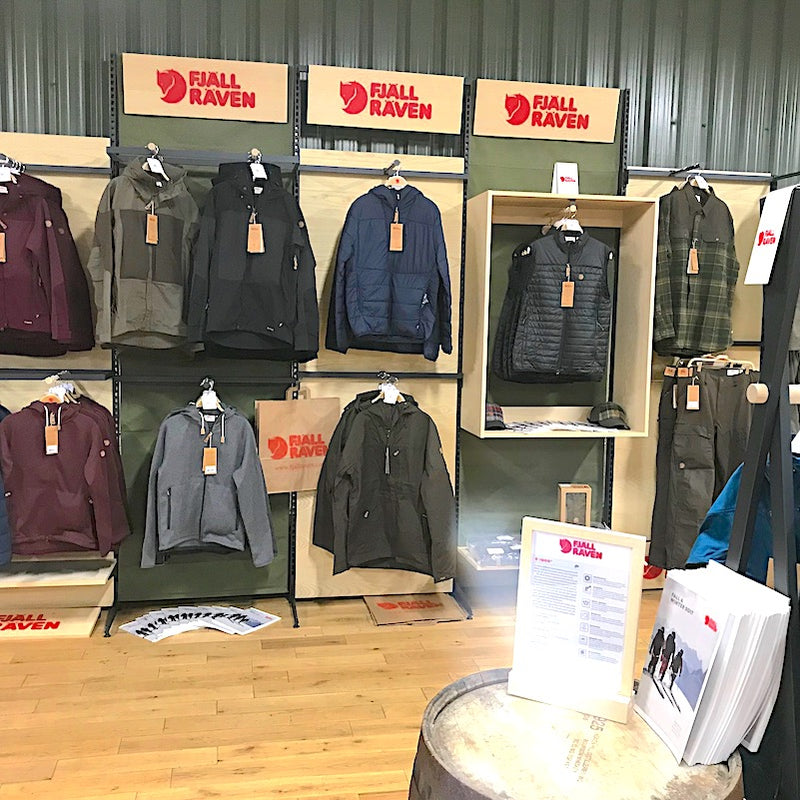 FjallRaven Outdoor Clothing in Cluny Country Store