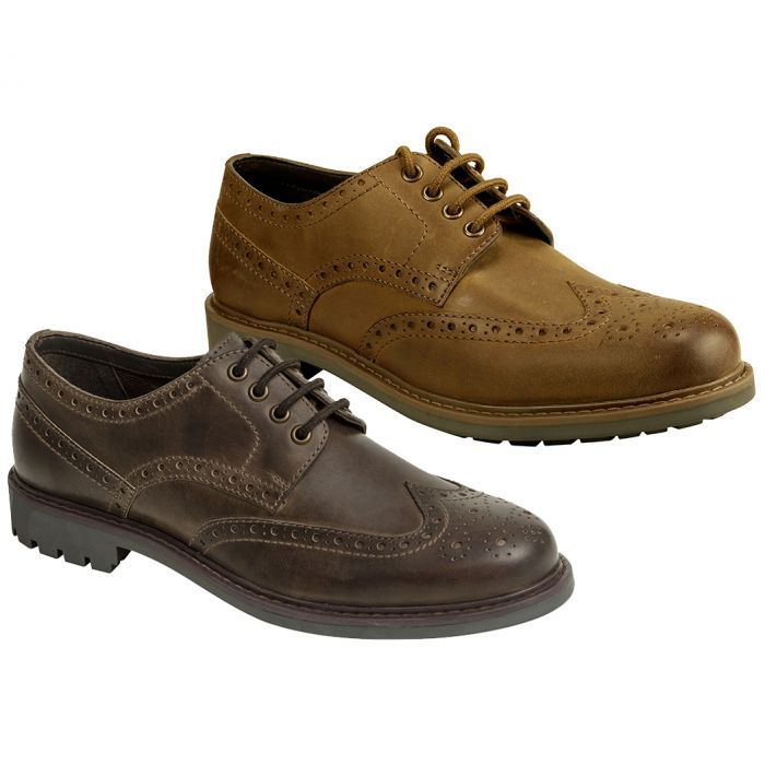 Hoggs of Fife Inverurie Country Brogue Shoe