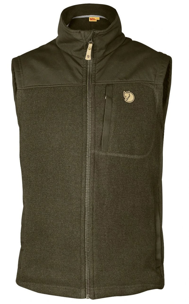 Fjallraven buck fleece vest, www.clunycountrystore.co.uk,