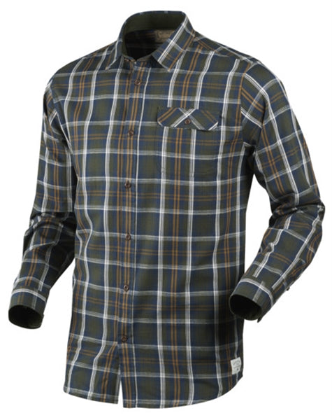 Seeland Gibson Shirt (Carbon Blue), Shirts, Seeland www.clunycountrystore.co.uk