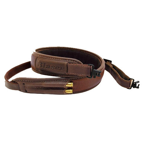 Blaser Leather Rifle Sling, www.clunycountrystore.co.uk, Shooting Accessories, Blaser