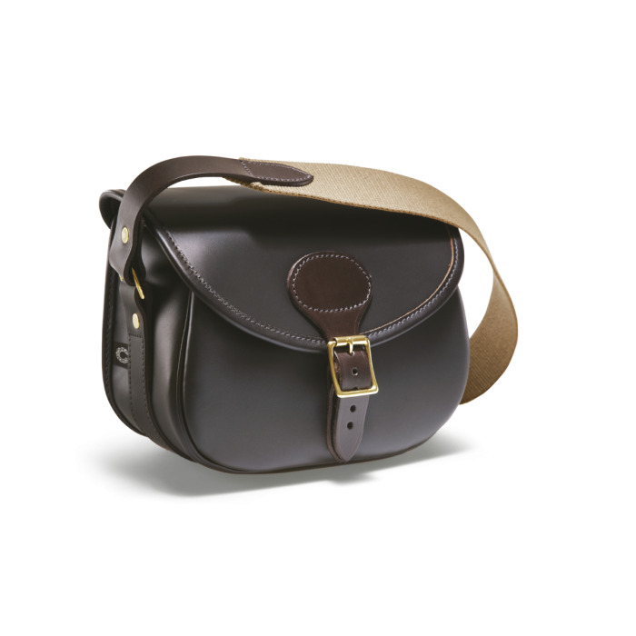 Croots Byland Leather Cartridge Bag, www.clunycountrystore.co.uk,