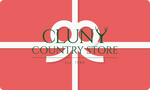 Gift Card, www.clunycountrystore.co.uk,