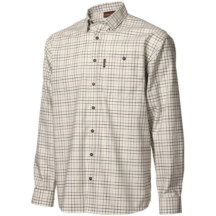 Harkila Lancaster Shirt (stone check), www.clunycountrystore.co.uk