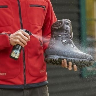 Harkila Waterproofing Leather Care Spray - www.clunycountrystore.co.uk