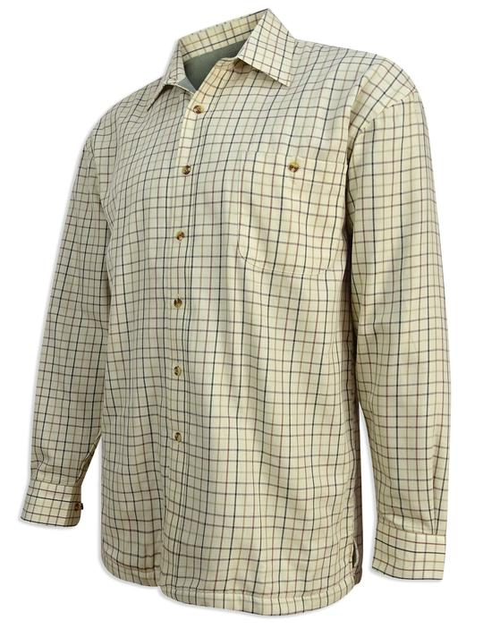 Hoggs of Fife Birch Micro-fleece Lined Shirt
