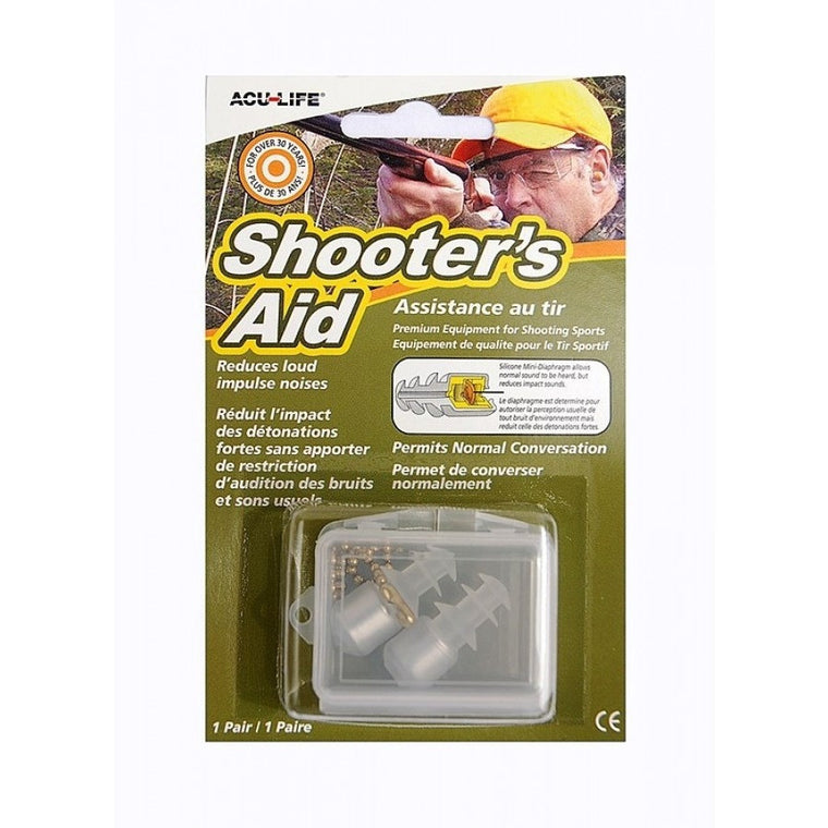 Shooters Aid Ear Plugs, www.clunycountrystore.co.uk