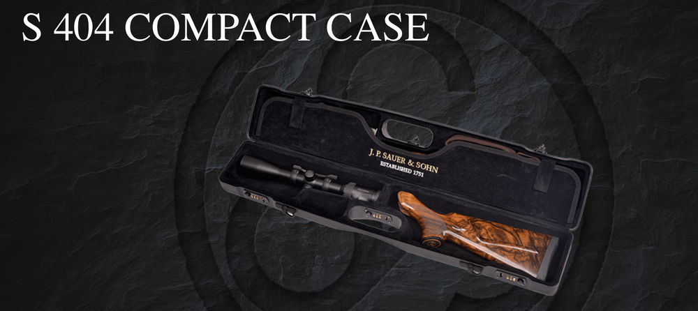 Sauer 404 super Compact Case, www.clunycountrystore.co.uk,