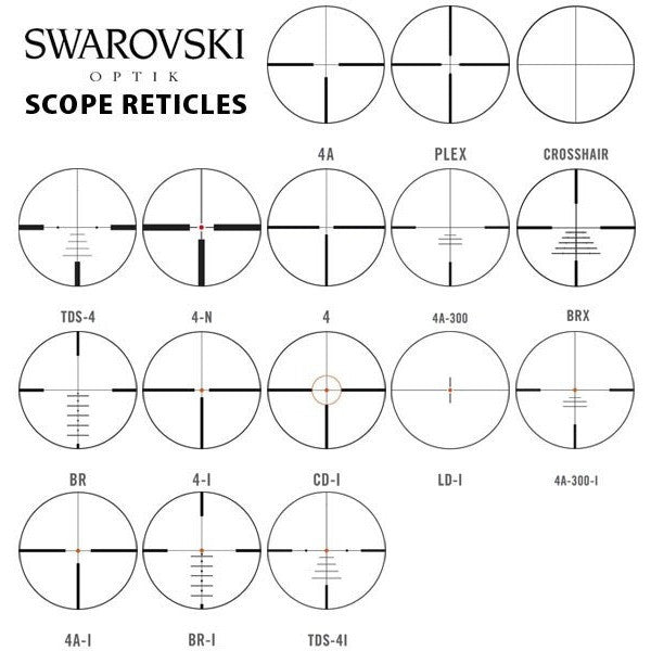 Swarovski Z6i 2-12 x 50 L Rifle Scope, www.clunycountrystore.co.uk
