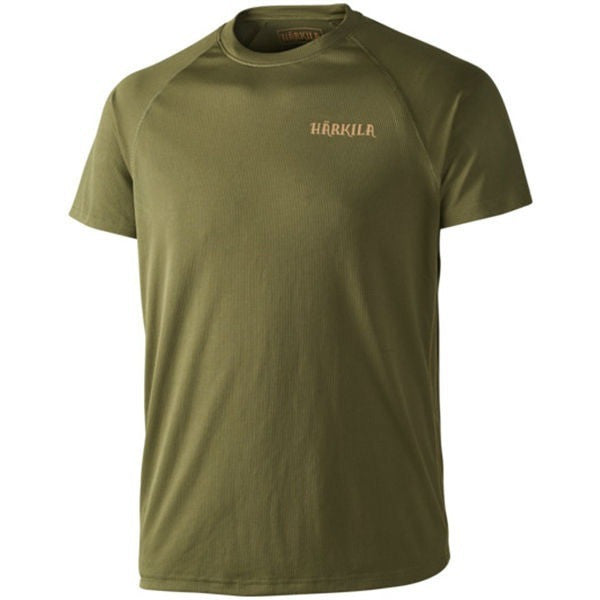 Harkila Herlet Tech T-Shirt, Rifle Green, Cluny Store