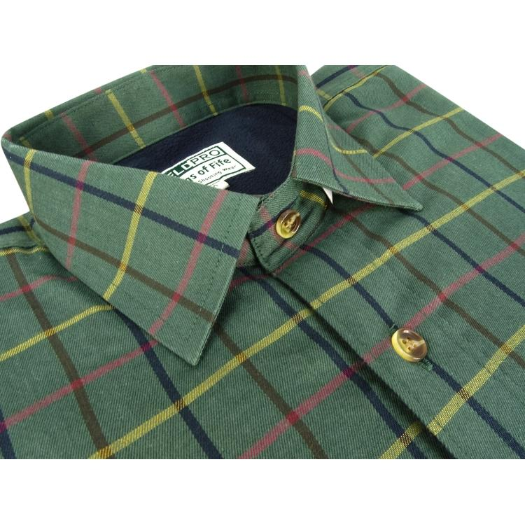 Hoggs of Fife Beech Fleece Lined Shirt