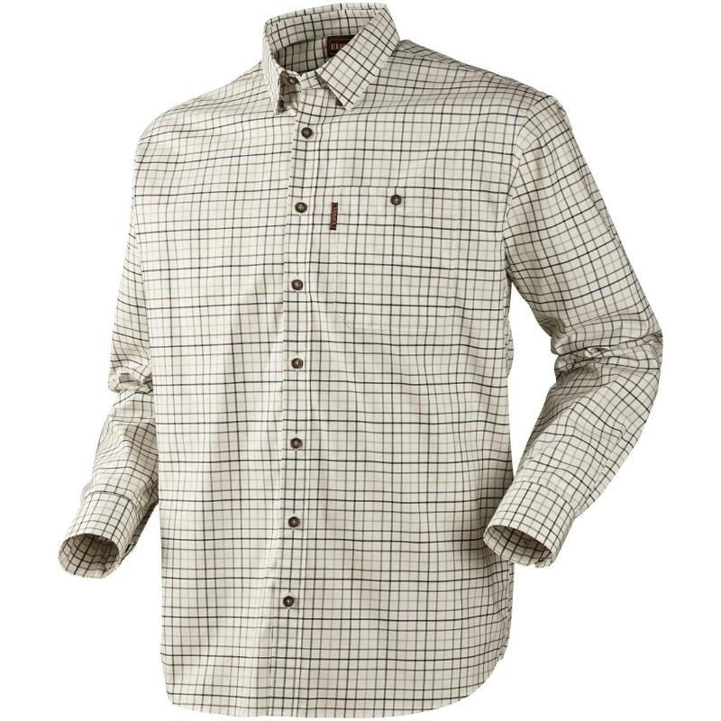 Harkila Lancaster Shirt (stone check), www.clunycountrystore.co.uk,