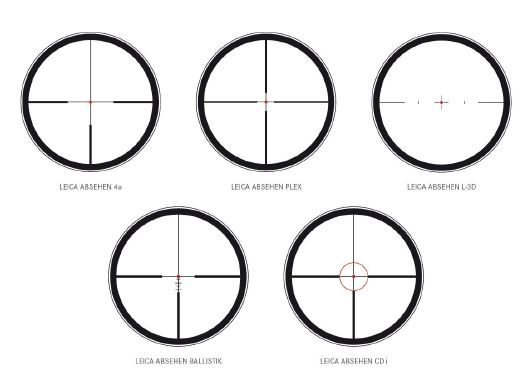 Leica scope reticule options, Sports Optics