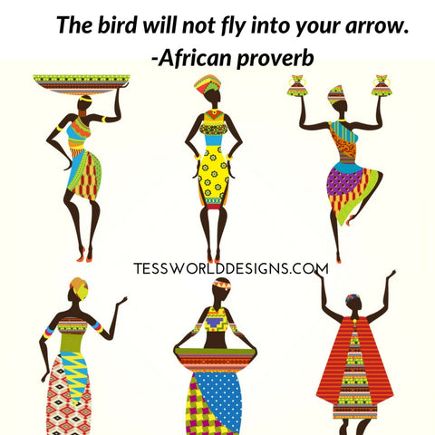 bird arrow african proverb