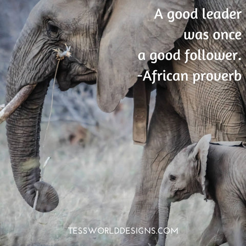 goodleader african proverb