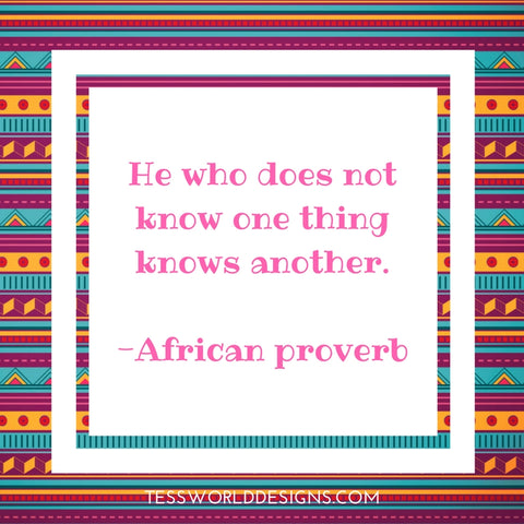 knowledge proverb
