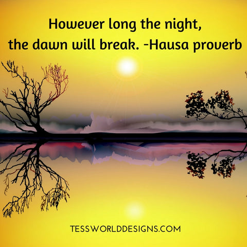 nightdawn african proverb
