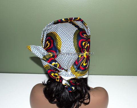 How to tie a head wrap - Step 6