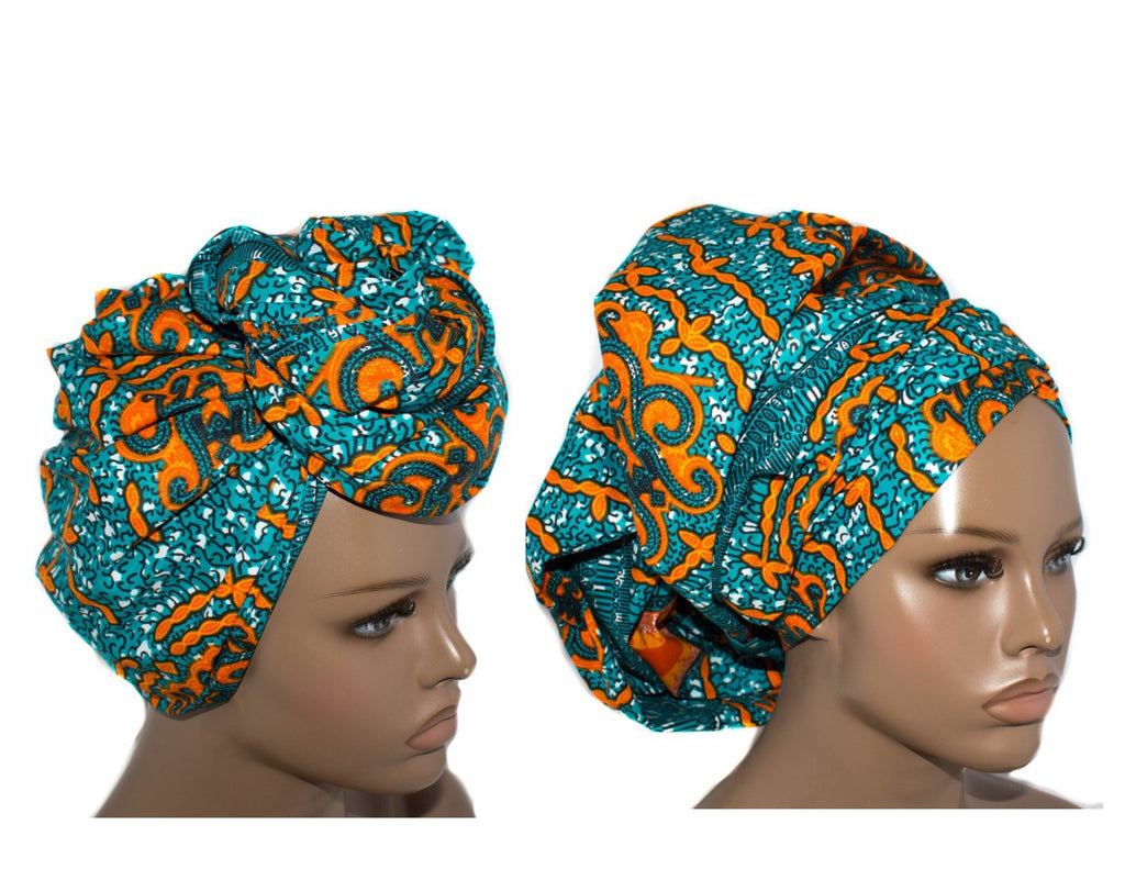 Turban head Wrap/ African head wrap/ Head wrap Scarf/ Men Head tie/ tessworlddesigns, Yaa HT255