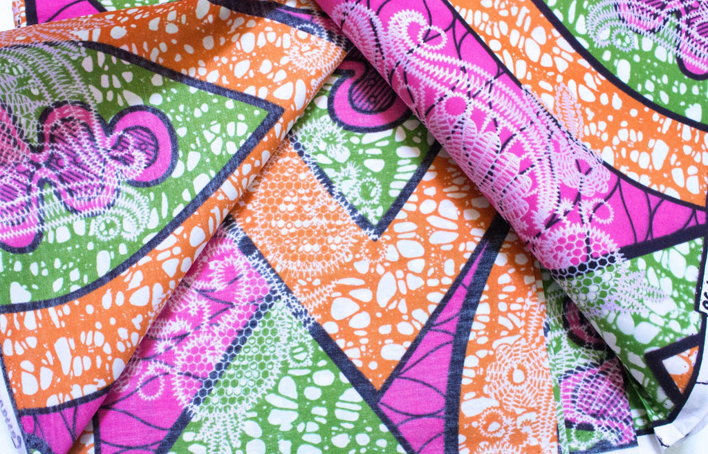 Pink wedding fabric/ African fabric 6 yards/ wholesale/ Ankara fabric for sewing/ Ankara clothing/ African fabric WP1214