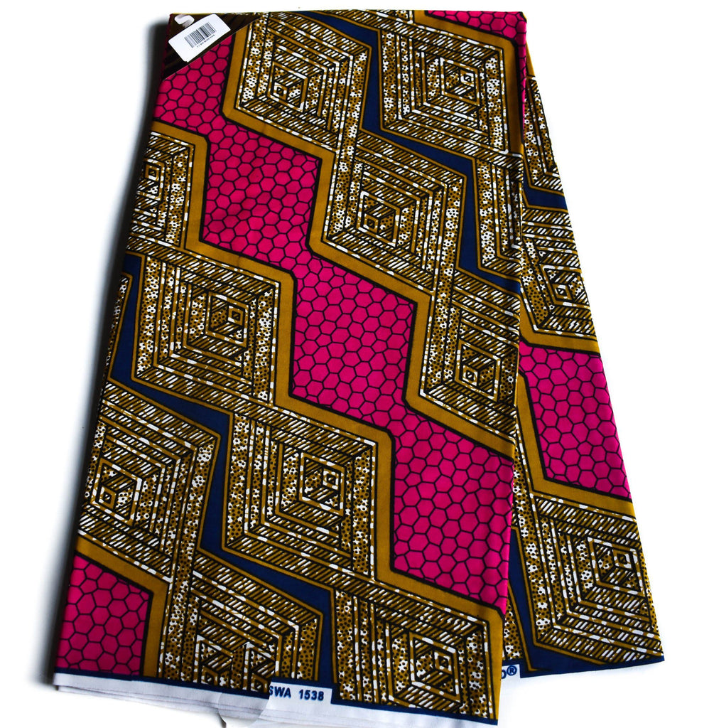 Best African fabric Wholesale/ Ankara Fabric 6 yards/ WP1182 - Tess World Designs, LLC