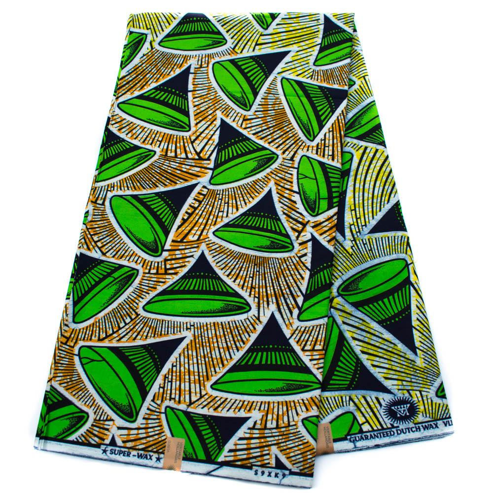 Authentic Vlisco Super Wax, 6 yards| Vlisco fabric| African fabric, Funnel HW67 - Tess World Designs, LLC