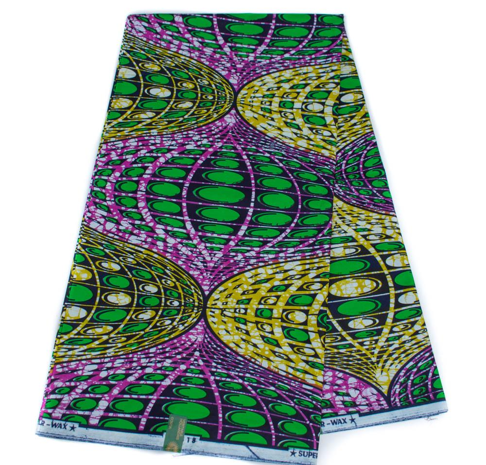 Authentic Vlisco Super Wax, 6 yards| Vlisco fabric, African fabric HW66 - Tess World Designs, LLC