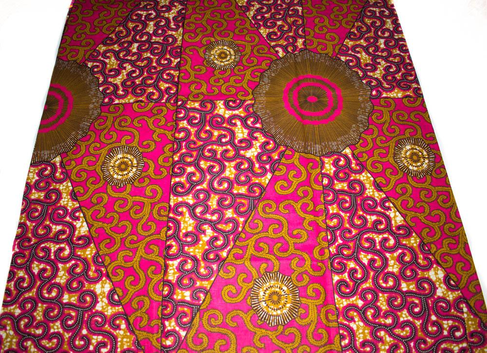 African fabric 6 yards/ Ankara fabrics  WP1265 - Tess World Designs, LLC