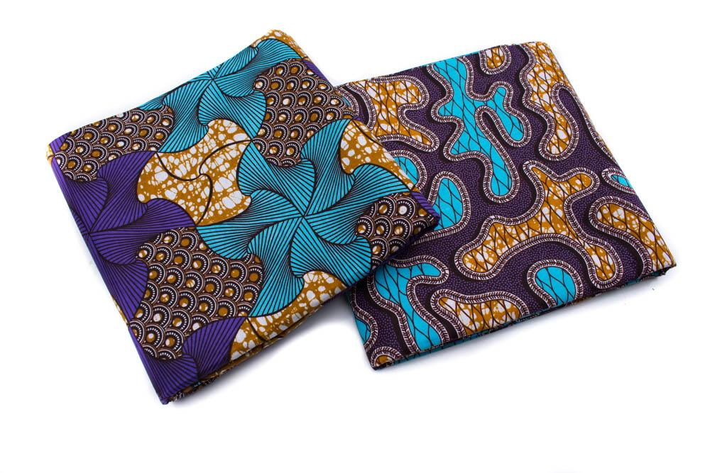 Ankara fabric 6 yards/ African fabrics Maze WP1263 - Tess World Designs, LLC