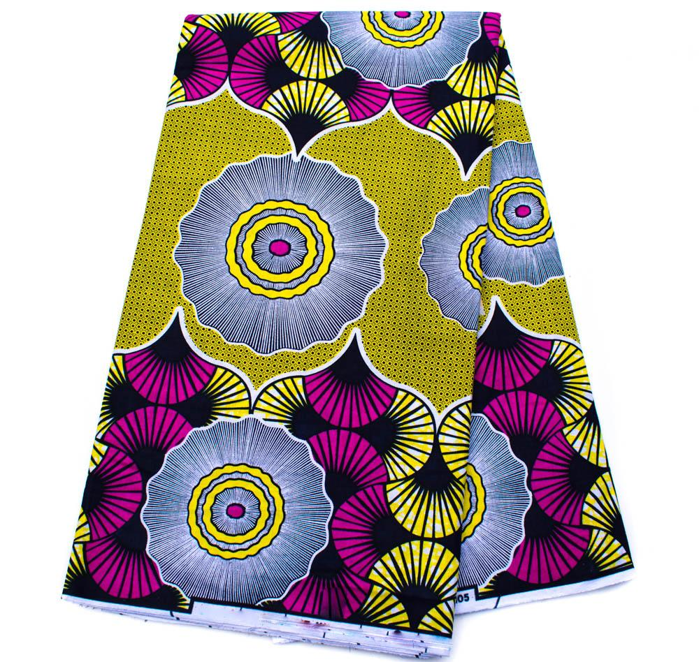 Ankara fabric 6 yards/ African fabric WP1261 - Tess World Designs, LLC