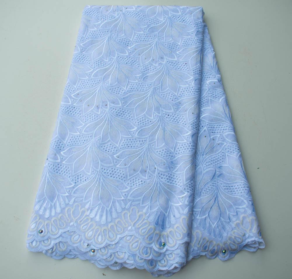 Swiss voile Lace/ Africa lace fabric/ White lace/ 5 Yards SL156