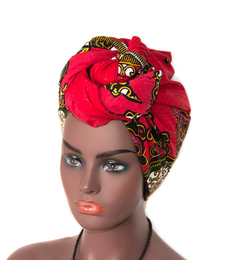 African headwrap African fabric