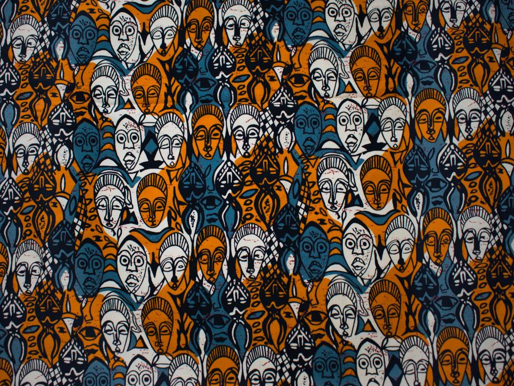 African fabric/ 2 Way stretch Fabric per yard/ mask African inspired- ST20 - Tess World Designs, LLC