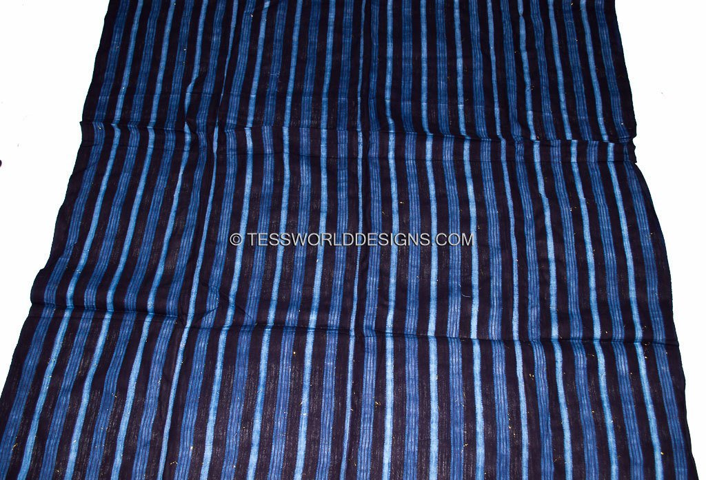 Authentic Guinea indigo cloth/ GMC03 - Tess World Designs, LLC