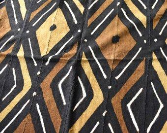 Handcrafted Mudcloth fabric from Mali MC220
