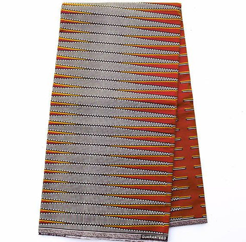 WP1046 African Fabric- Pencil print , 6 yards