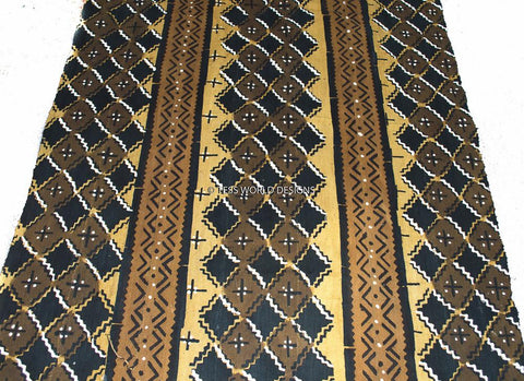 MC96 - Authentic Hand woven Mudcloth Fabric, West - Tess World Designs