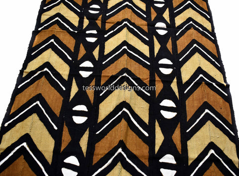 Handcrafted Mudcloth fabric from Mali MC124