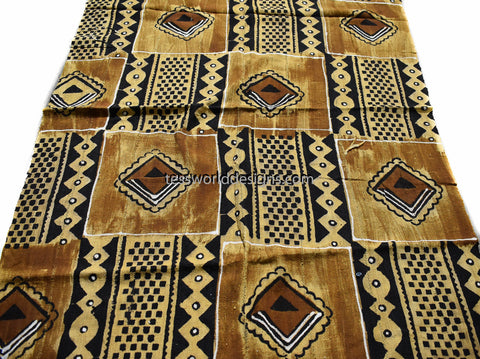 Handcrafted Mudcloth fabric from Mali MC215