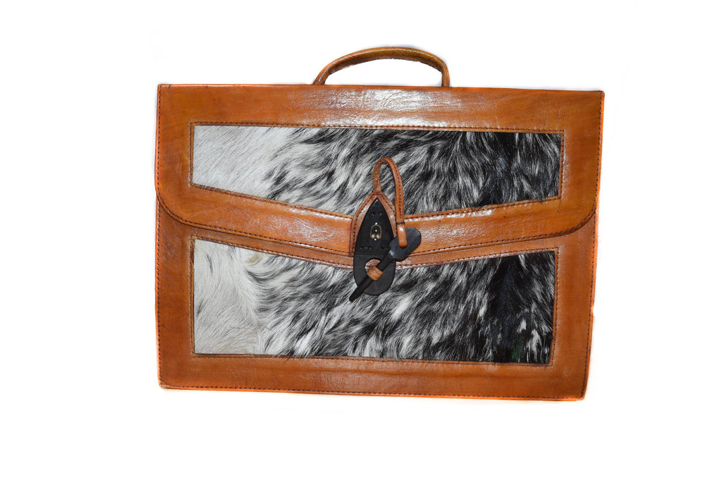 Handmade men's leather briefcase, BG26