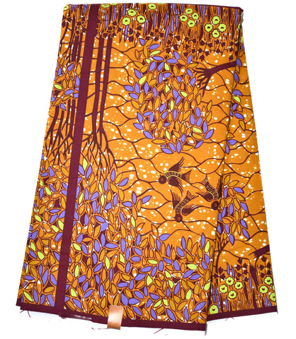 African Fabric by the yard, HiTarget from Ghana, Savanna WP1102B