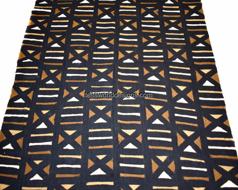 Handcrafted Mudcloth fabric from Mali weave MC219