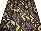 Authentic Hand woven Mudcloth Fabric -MC40