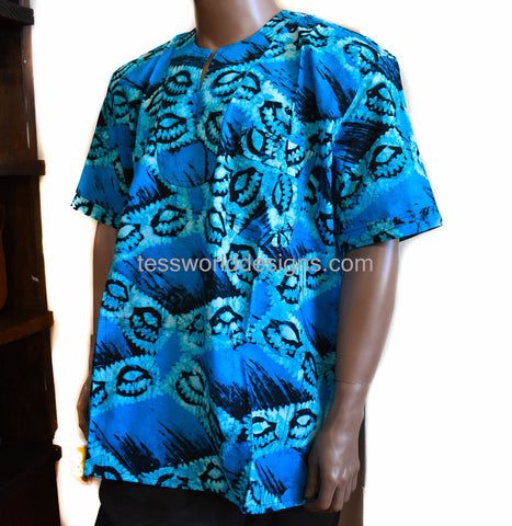 Handmade clothing for men, embroidered shirt, XL Kwoeku MW07